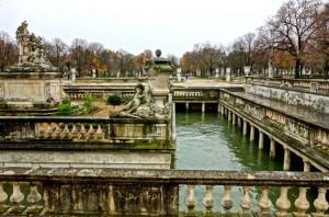 The Jardins de la Fontaine are built around the Roman thermae