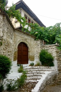 Lovely homes in Berat
