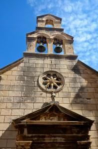 Looking up in Dubrovnik