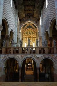 Interior of Basilica of San Zeno Maggiore