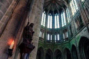 Inside the Cathedral of St. Michael