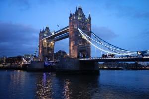 Tower Bridge at dusk