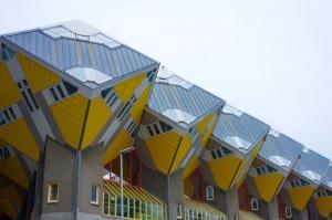 Kubuswoningen = cube apartment houses
