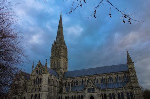 Salisbury Cathedral - the tallest spire in England