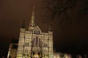 Salisbury Cathedral from the Close