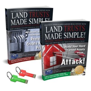 Land Trusts Made Simple Complete Home Study with USB