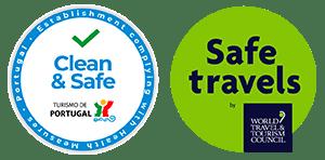 Selos Clean & Safe e Safe Travel