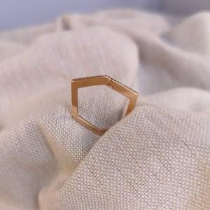 Landy bague diamant création La Rochelle