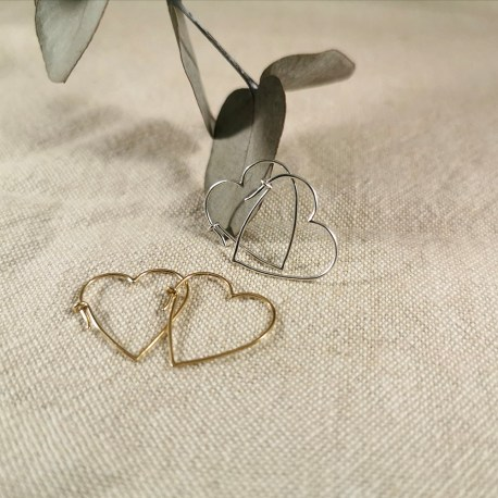 5boucles-d_oreille,-coeur,-or-jaune,-or-blanc,-or-rose