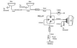 Spotlight Wiring Diagram  Somurich