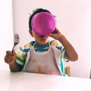 bambini a tavola