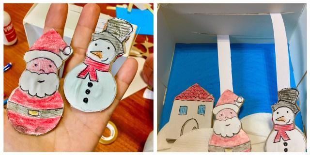 decorazione natalizia per bambini fai da te