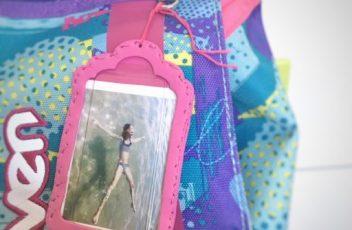 portafoto da zaino