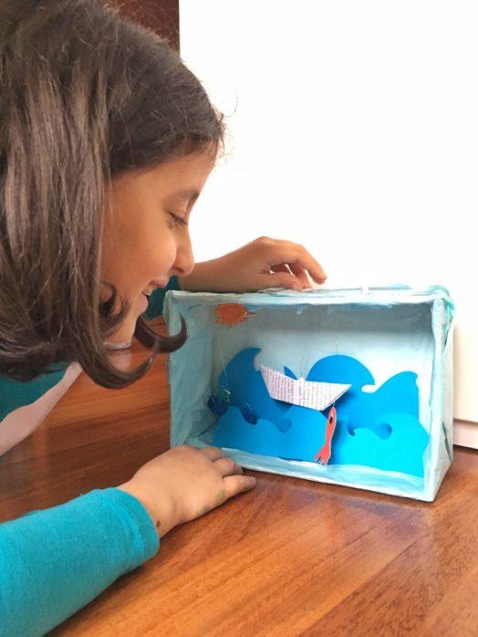 scatola del mare fai da te