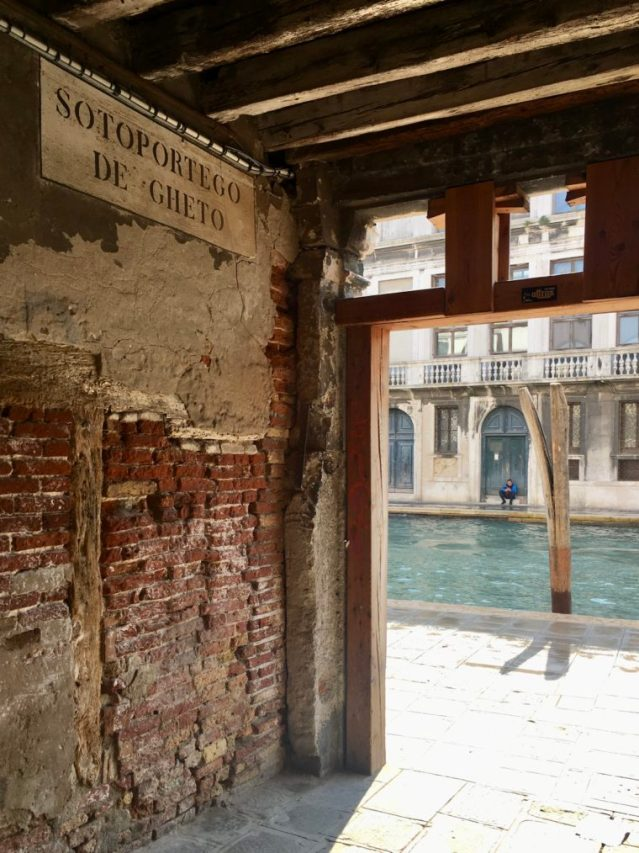 Venezia con i bambini il Ghetto Ebraico