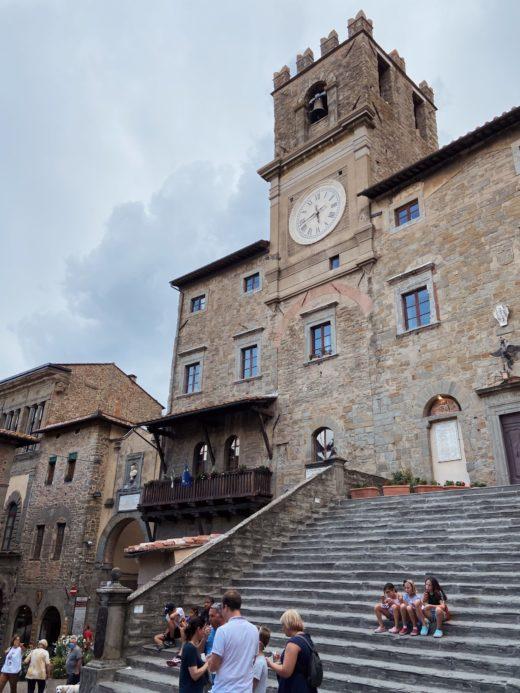 Cortona, val d'Orcia