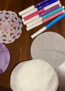 carta forno per decorazioni