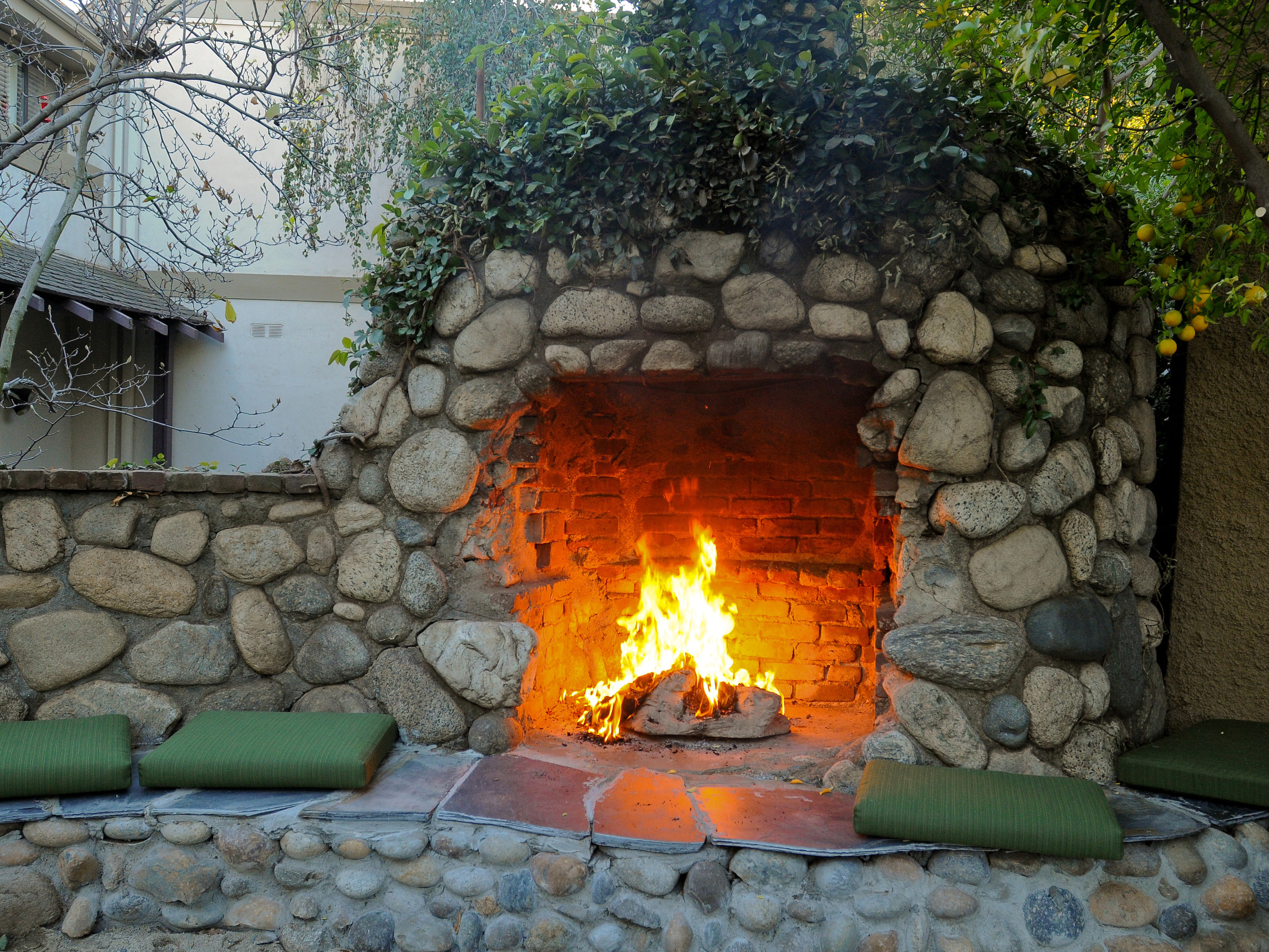 New Landscaping Trends for 2017 - Lane's Landscaping Supply on Fireplace In Yard id=97157