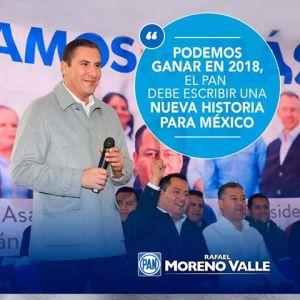 Rafa Moreno Valle Gobernador de Puebla: Independientemente de donde esté, siempre tendré a Puebla en mi corazón y mi mente.