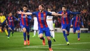 En 6 minutos el Barcelona  elimina al PSG