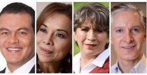 Los candidatos al Estado de México aplauden detención de Duarte