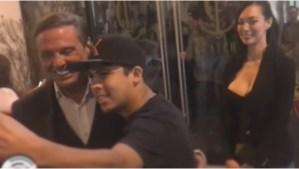 Luis Miguel pide a fotógrafos captar su mejor ángulo (Video)