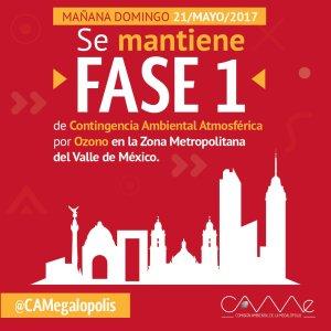 """Mañana aplicará """"Hoy no circula"""" en la Ciudad de México"""