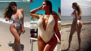 Conoce a Anastasiya Kvitko la sensual Kim Kardashian rusa (FOTOS Y VÍDEOS)