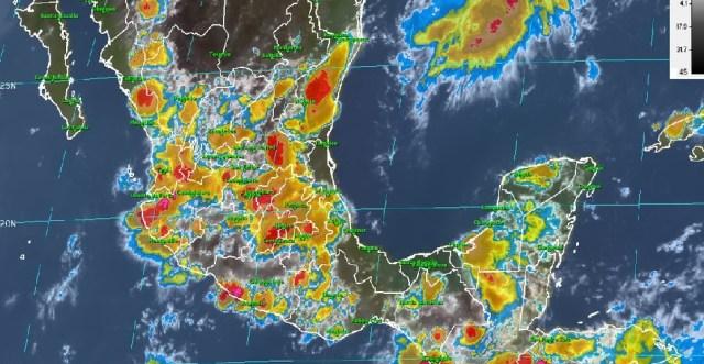 Habrá tormentas nocturnas en gran parte del país: SMN