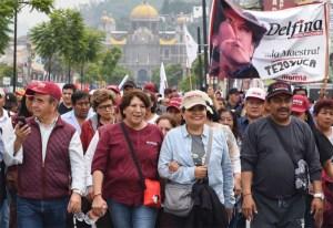 MORENA y Delfina hoy llegarán a Los Pinos para defender elección de EdoMex