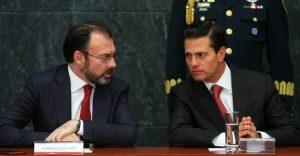 Ni Videgaray ni Peña escucharon lo que dijo Trump