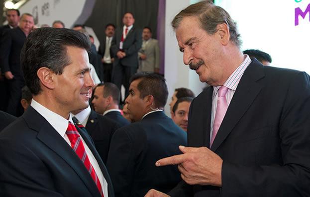 Del imbécil Fox, al cínico Fox; confiesa que apoyó a Peña Nieto