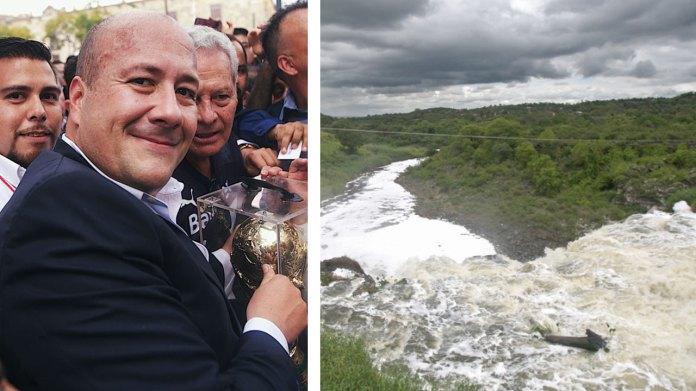 Resultado de imagen para Va Alfaro por el saneamiento del Río Santiago