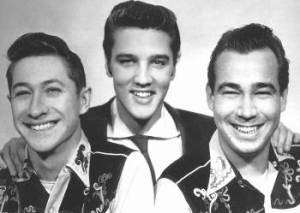 Elvis Presley, Scotty Moore y Bill Black