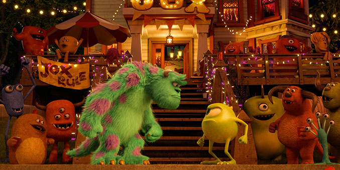 Lecciones de vida de Pixar - Monsters University