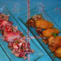 Recetas de cocina: calamaritos en salsa y salpicón de huevas y pulpo, ¡fácil!