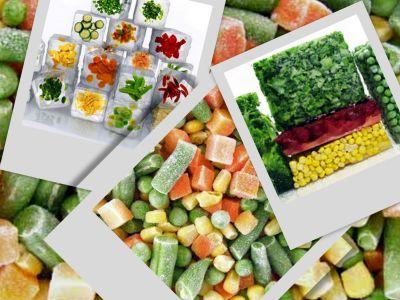 Verduras congeladas: precio.