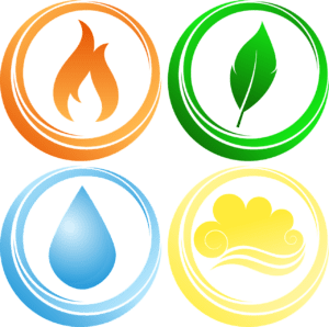 fire-air-water-earth