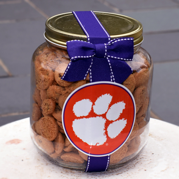 cookies clemson half gallon