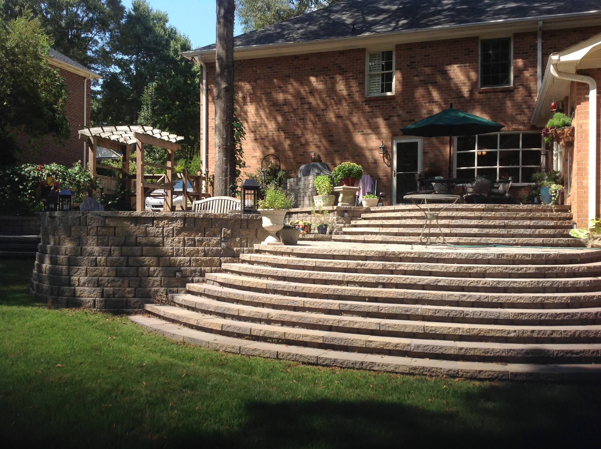 Top landscapers in charlotte nc - Stairs