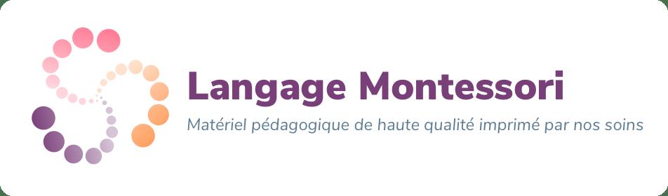 Langage Montessori