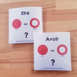 grammaire-conjugaison Montessori