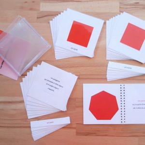 Nomenclatures géométrie Montessori 6-12 ans