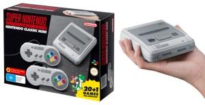 Super Nintendo Mini Caja