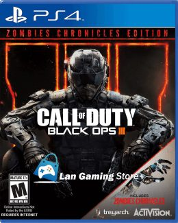 Call of Duty Black Ops 3 Zombie Chronicles PS4