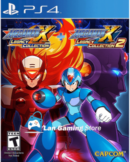 Mega Man X Legacy Collection PS4