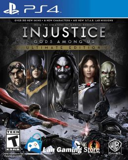 Injustice 1 PS4