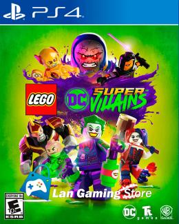 Lego DC Super Villains PS4