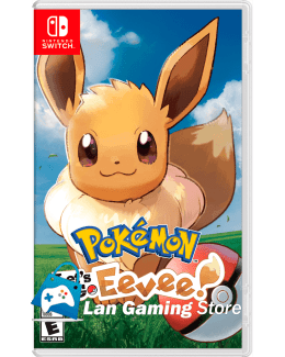 Pokemon Lets Go Eeevee Nintendo Switch