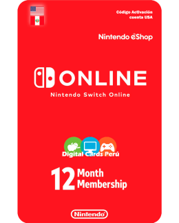 Nintendo Switch Online 1 año